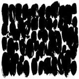 Fundo feito a mão preto e branco Apropriado para o projeto de empacotamento, eventos, local, página em redes sociais ilustração do vetor