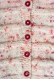 Fundo feito malha do casaco de lã Imagens de Stock