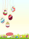 Fundo feliz de easter Foto de Stock Royalty Free