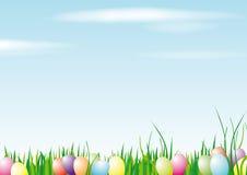 Fundo feliz de Easter Fotografia de Stock