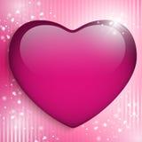Fundo feliz do coração do dia da mãe Foto de Stock Royalty Free
