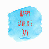 Fundo feliz do dia de pai Imagem de Stock Royalty Free
