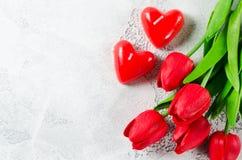 Fundo feliz do dia do ` s do Valentim ano novo feliz 2007 Fotos de Stock Royalty Free