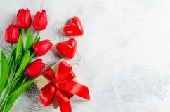 Fundo feliz do dia do ` s do Valentim ano novo feliz 2007 Imagens de Stock