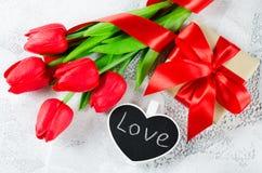 Fundo feliz do dia do ` s do Valentim ano novo feliz 2007 Imagens de Stock Royalty Free