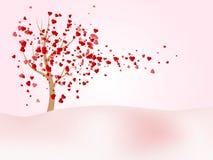 Fundo feliz do vetor do dia de Valentim ilustração stock