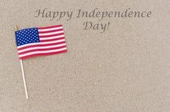 Fundo feliz dos EUA do Dia da Independência Imagens de Stock Royalty Free
