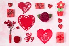 Fundo festivo ao dia de Valentim Imagem de Stock Royalty Free