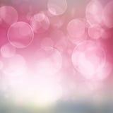 Fundo festivo azul e cor-de-rosa Imagens de Stock