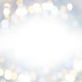 Fundo festivo das luzes fotos de stock