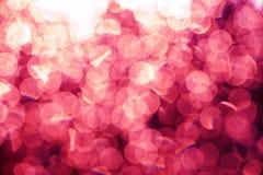 Fundo festivo das luzes de Natal do brilho defo da luz e do ouro imagem de stock royalty free