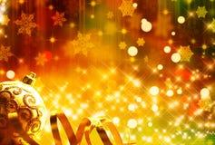 Fundo festivo de ano novo Fotos de Stock