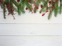 Fundo festivo do inverno fotografia de stock