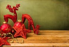 Fundo festivo do Natal fotos de stock