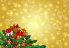 Fundo festivo do Natal, imagem do vetor ilustração do vetor