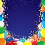 Fundo festivo do vetor com espaço para o texto Fotografia de Stock Royalty Free