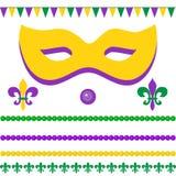 Fundo festivo para o carnaval, festival ilustração stock