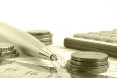 Fundo financeiro Imagem de Stock Royalty Free
