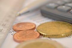 Fundo financeiro foto de stock