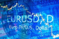 Fundo financeiro abstrato Imagens de Stock Royalty Free