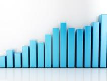 Fundo financeiro do negócio do gráfico ilustração do vetor