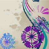 Fundo floral à moda Foto de Stock Royalty Free
