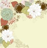 Fundo floral Fotografia de Stock