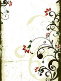 Fundo floral ilustração do vetor