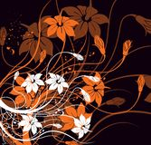 Fundo floral Imagem de Stock