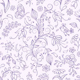 Fundo floral Fotos de Stock Royalty Free