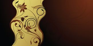 Fundo floral Foto de Stock Royalty Free