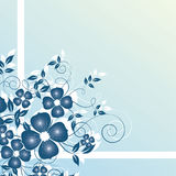Fundo floral abstrato Imagem de Stock