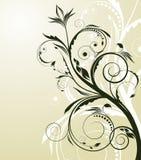 Fundo floral abstrato Foto de Stock