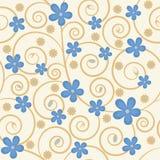 Fundo floral abstrato Imagem de Stock Royalty Free