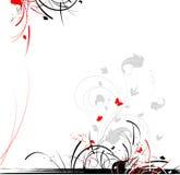 Fundo floral abstrato Fotografia de Stock