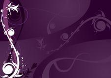 Fundo floral abstrato. Imagem de Stock Royalty Free