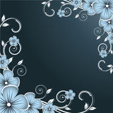 Fundo floral abstrato Imagens de Stock Royalty Free