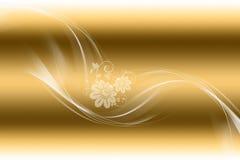 Fundo floral abstrato bonito fotografia de stock