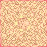Fundo floral abstrato do vetor Imagem de Stock