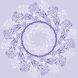 Fundo floral abstrato, elementos para o projeto, vetor Foto de Stock Royalty Free