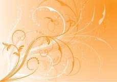 Fundo floral abstrato, elementos para o projeto, vetor Fotos de Stock Royalty Free