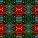 Fundo floral abstrato sem emenda Fotos de Stock Royalty Free