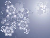 Fundo floral abstrato, vetor ilustração stock