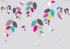 Fundo floral bonito Fotografia de Stock