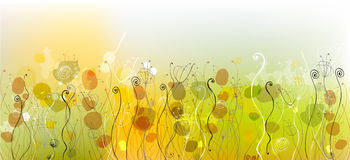Fundo floral bonito Imagens de Stock
