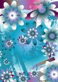 Fundo floral bonito ilustração stock