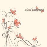 Fundo floral bonito Fotografia de Stock Royalty Free