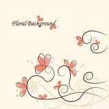 Fundo floral bonito Foto de Stock