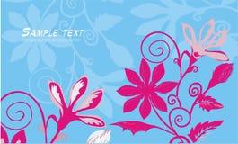 Fundo floral brilhante Imagem de Stock