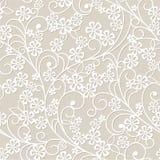 Fundo floral cinzento abstrato Foto de Stock Royalty Free